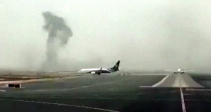 Report details how Emirates jet skidded to fiery stop on Dubai runway