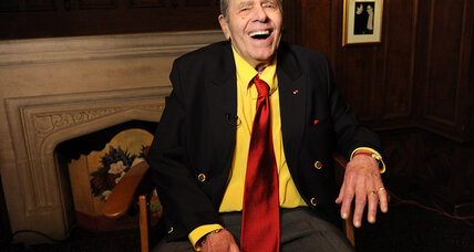 Actor Jerry Lewis, now a nonagenarian, returns in new film 'Max Rose'