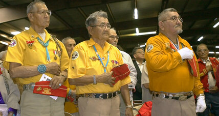 Navajo code talker is honored as a 'warrior'