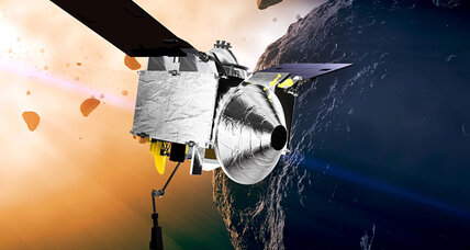 The science behind NASA's asteroid sampling mission