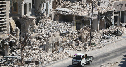 In Aleppo, a potential turning point for Syria