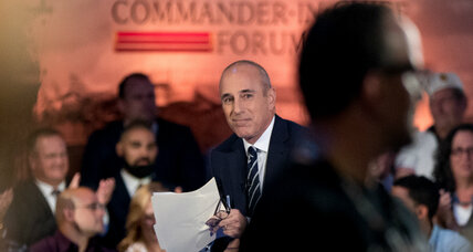 Matt Lauer and why moderating presidential debates isn't easy