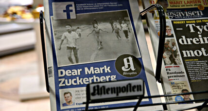 Facebook censors iconic napalm photo: Are algorithms undermining news?