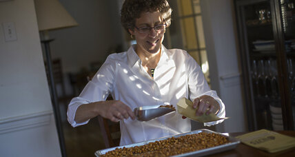 Her granola business helps families in Congo