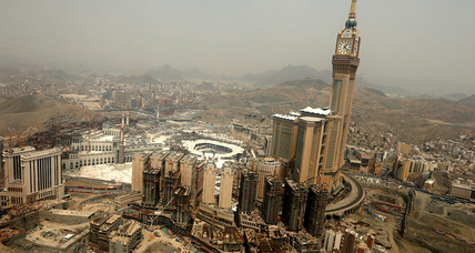 Mecca takes on massive construction to accommodate pilgrims