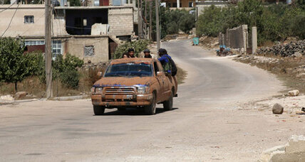 Syrian rebels prepared to accept cease-fire