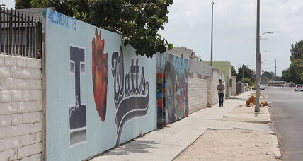 Fifty years after riots, Watts builds a bridge for minorities, police