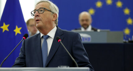How the European Commission leader plans to keep the EU together