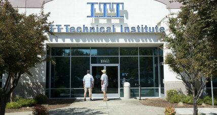 Should the government forgive debt students racked up at ITT Tech?