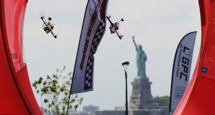 Is drone racing the next NASCAR? Ask ESPN. (+video)