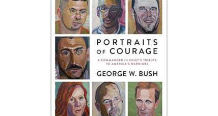 George W. Bush's portraits of veterans evoke both controversy and praise