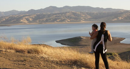 What does a mountain lake reveal about California's drought?