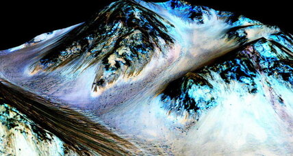 Great lakes on Mars help rewrite the Red Planet's history