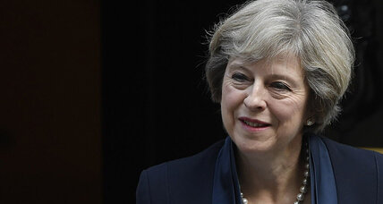 Ahead of UN summit, Theresa May urges more control over migrant crisis