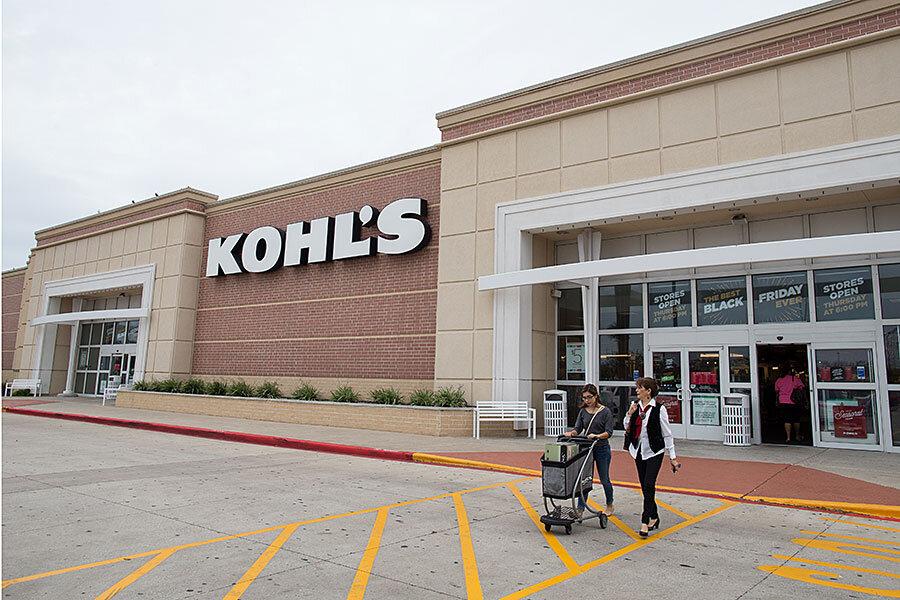 Kohl's to hire 69,000 seasonal workers, yet apparel sales remain sluggish - CSMonitor.com