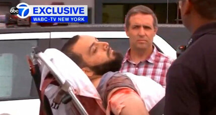 Suspect is shot and captured in New York-area bombings