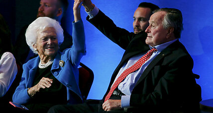 George H.W. Bush to vote for Hillary Clinton