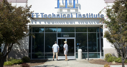 Is the US government doing enough to help former ITT Tech students?