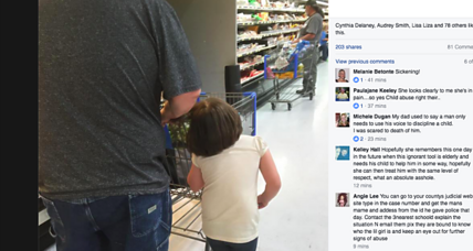 Man pulling girl by her hair ignites web debate on corporal punishment