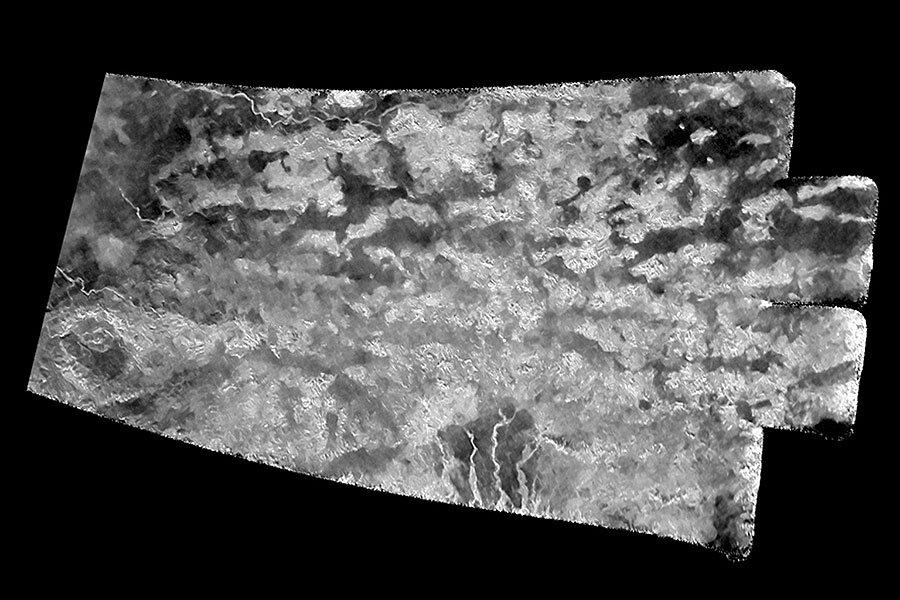 NASA orbiter reveals 'Shangri-La' on Titan