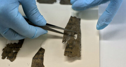 En-Gedi scroll unfurled: How technology helped reveal an ancient biblical text