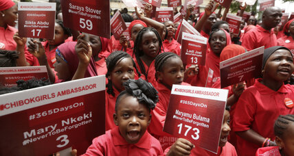 Nigerian president asks for UN help to free abducted Chibok girls