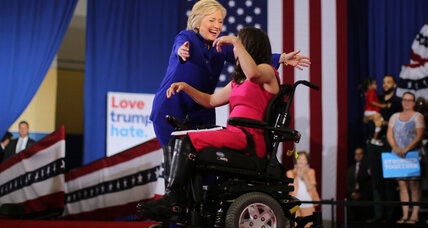 Why Clinton is seeking the 'disability vote'