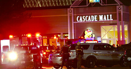 Search for Washington mall shooter who killed five people at Macy's