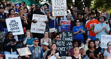 Charlotte street protests: Where the new South meets the old South (+video)