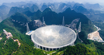 China tests world's largest radio telescope: What's it hunting for? (+video)