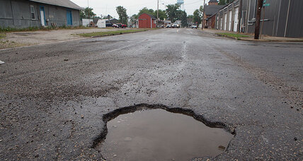 Why filling potholes won't be enough to grow the US economy
