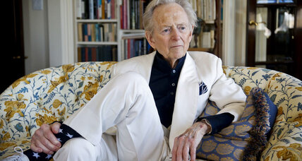 A visit to Tom Wolfe's 'Kingdom of Speech'