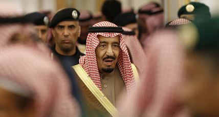 Amid faltering oil revenues, Saudi Arabia cuts public salaries for the first time