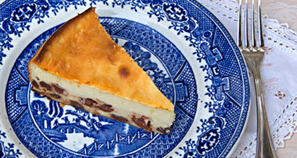 Hold the cream cheese for this Italian cheesecake: Ricotta Chevre Cake
