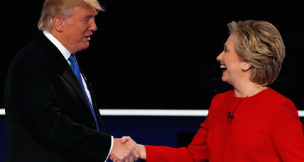 Last night's presidential debate highlighted competing visions on taxes