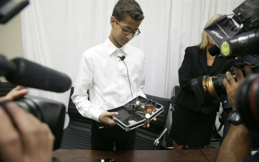 Why the family of Ahmed 'the clock kid' is suing Glenn Beck and a Texas  mayor - CSMonitor.com