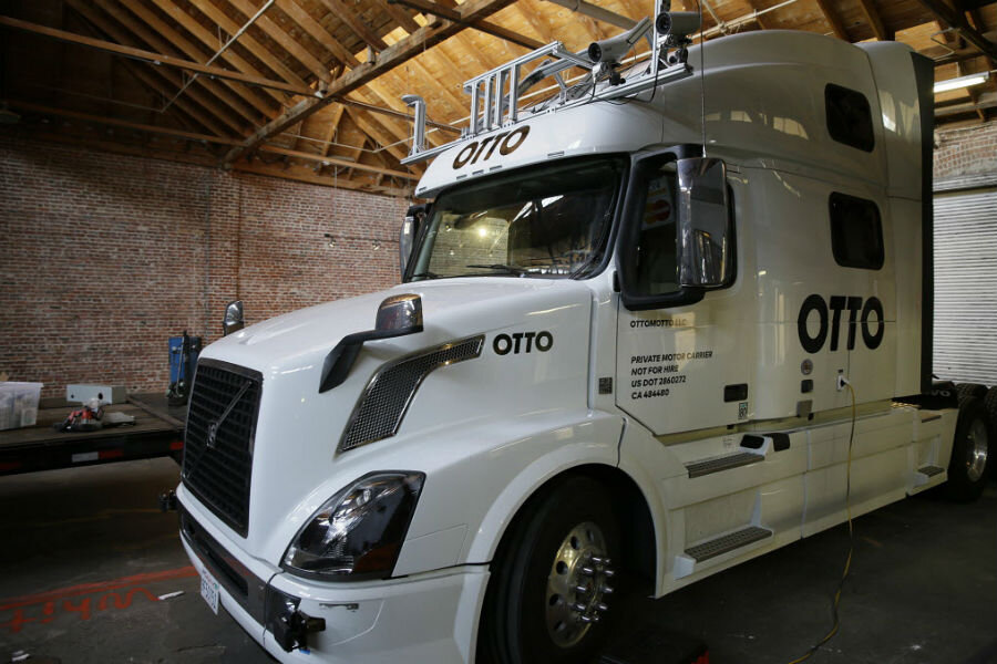 Uber's self-driving big rig plan: What does it mean for