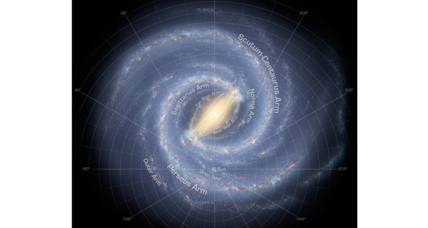 Our corner of the Milky Way might be bigger than previously thought