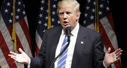 Despite harsh reviews, Trump resists new debate approach