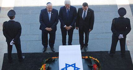 World leaders pay respects ahead of Shimon Peres's funeral