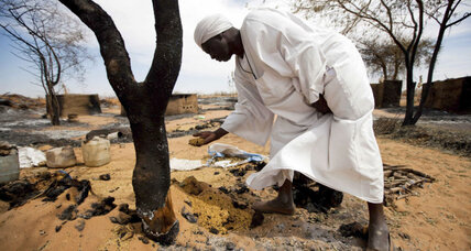 Is Sudan using chemical weapons on civilians in Darfur?