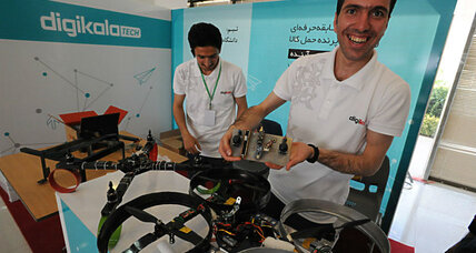 With civilian drone competition, Iran battles against brain drain
