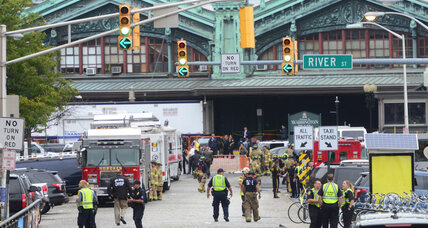 1 dead, over 100 hurt in train crash at New Jersey station