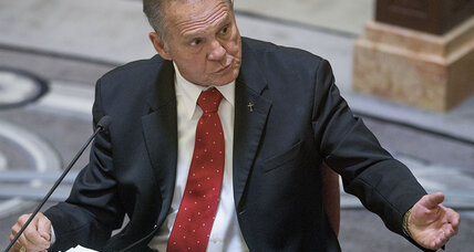 Alabama Chief Justice Roy Moore suspended over stance on gay marriage