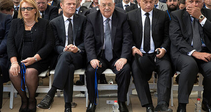 Abbas attends Peres's funeral, honoring legacy as 'partner for peace'