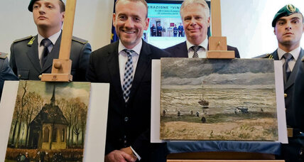 Van Gogh paintings recovered 14 years after theft