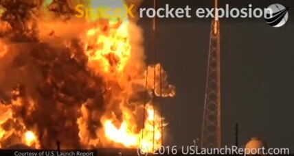 SpaceX rocket explodes on pad: Looking for answers