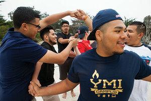 Many latina teens gang share