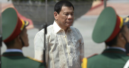 Philippines president apologizes to Jews after comparing himself to Hitler