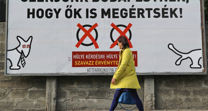 Hungary's anti-migrant vote: Is it about refugees or Orbán?